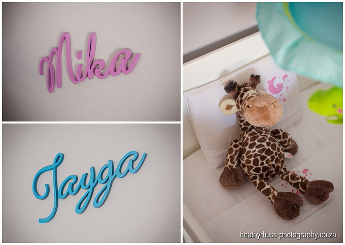 Baby nursery for twins